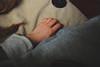 To The Left (Kelsey Shaw) Tags: camera urban dog dogs girl animal vintage lens fur photography hands nikon hand skin finger tail fingers knuckle fluffy cap bones jumper bone wrist scar scars knuckles matte baggy
