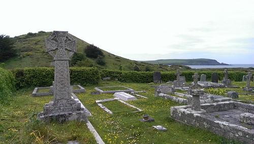 St Enodoc's churchyard