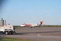 Jazz Air, Canadair CRJ-200ER, C-GJZZ, at Greater Moncton International Airport (JarvisEye) Tags: canada airplane aircraft jazz newbrunswick moncton canadair aircanada crj200er cgjzz greatermonctoninternationalairport