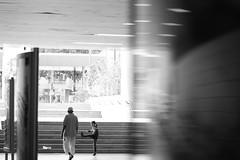 Strangers (Alex Harbich) Tags: street camera white black alex canon germany de lens deutschland photography eos photo foto fotografie photographie frankfurt main 100mm 5d alexander 169 kontrast schwarz kamera ostbahnhof objektiv weis breitbild harbich 5dmkiii 5d3 5diii