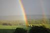 double bow (silyld) Tags: blue ireland red sky orange sun green rain yellow rainbow cork violet indigo double bow corcaigh potofgold doublebow