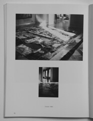 """Construction in Process"". Lodz, Poland 1990. Detail of the installation. (Igor and Svetlana Kopystiansky: Archive) Tags: poland installationart lodz constructioninprocess conceptualpainting igorkopystiansky"