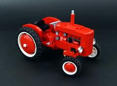 21 (LegoMarat) Tags: tractor lego retro technic moc