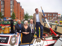 "Stephen Mosley MP at Inland Waterways Association Summer Festival at Tower Wharf Chester • <a style=""font-size:0.8em;"" href=""http://www.flickr.com/photos/51035458@N07/14367017794/"" target=""_blank"">View on Flickr</a>"