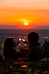 sunset romance on Tamborine Mountain