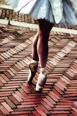 Dancing Legs (Wil Elliott Images) Tags: newyorkcity ballet feet ballerina centralpark streetphotography dancer graceful tamron18200mmf3563 leamcgowan nikond7000 topazclarity topazsimplify4 topazrestyle