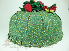 COBRE BOLO (euquefizbyalessandra) Tags: flores fuxico decoração chádecozinha chádepanela cobrebolo