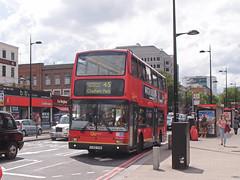 Go Ahead London Bus  PVL309 at Kings Cross, London. (Man of Yorkshire) Tags: red bus london buses volvo president 45 busstop kingscross doubledecker redroute londongeneral goahead plaxton londoncentral eustonrd b7tl claphampark pvl309 pj02tvo