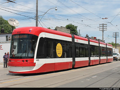 Toronto Transit Commission #4402 (vb5215's Transportation Gallery) Tags: toronto ttc transit outlook commission bombardier 2013 flexity