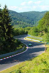 Spiegelkurve (daniels0319) Tags: rennen 24h nordschleife 2014 nrburgring langstrecken
