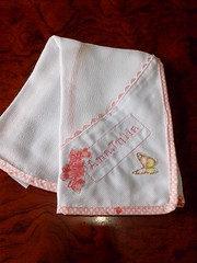 FRALDINHA DE BOCA (Cecys Baby) Tags: vanessa verde branco de rosa kit menina borboletas guimares passaros clssico gaiola berco fraldinha