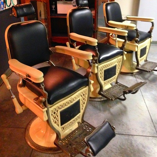 $$$AVAIL CHAIRS$$$$$ :-) Antique barber chair - Flickriver: Most Interesting Photos From Barber Chairs Pool