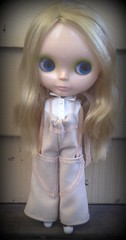 Wool Mori Girl Overalls