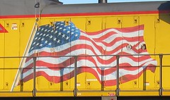 Happy Fourth of July (Fan-T) Tags: 3 up pacific union 4th july global 2014 emd sd70 8673