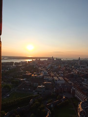 Liverpool cathedral sunset (DaznLou) Tags: city sunset birds liverpool cityscape cathedral beatles cavern liver mersey anfield merseyside merseybeat