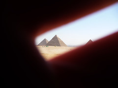 Hidden Pyramids (Ben O'Bro) Tags: lumix hand background fingers egypt panasonic cairo hide pyramids giza egypte foreground pyramides caire ghize tz5