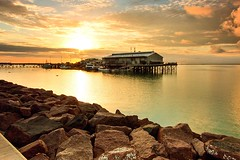 Stokes Hill Wharf at Sunrise (cameron_sweeney) Tags: canon landscape nt australia darwin aus northernterritory topend otherkeywords