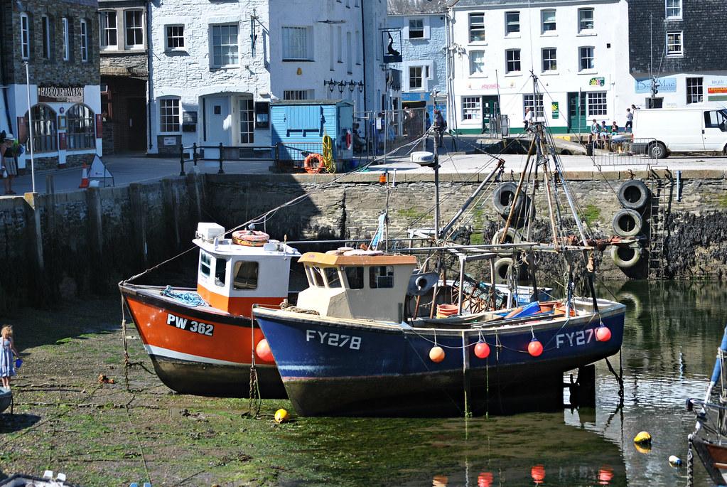 Mevagissey Cornwall UK.