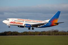G-GDFO 737-3U3 (Ian Tate) Tags: ncl jet2 newcastleairport boeing737300 newcastleinternationalairport egnt boeing7373u3 jet2holidays ggdfo