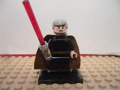 Lego Count Dooku - Purist Custom (HaphazardPanda) Tags: legostarwars legopurist legopuristcustoms