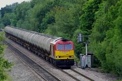 60024 - North Stafford Junction - 11-07-14 (techno-phobe) Tags: tug dbs class60 60024 dbschenker northstaffordjunction