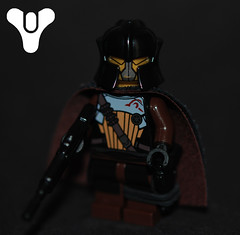 Destiny Fireteam: Warlock (Lavernius Tucker) Tags: new lego destiny hunter titan technique warlock fireteam brickarms