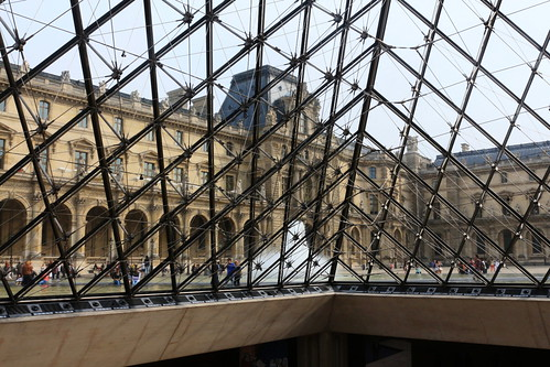 Louvre, Paris last autumn