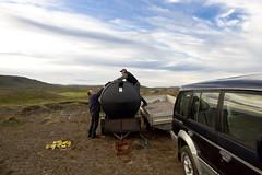 Ekkjuvatn-Rotþró flutt (G.Ægir Gunnarsson) Tags: gunnar elvar ekkjuvatn