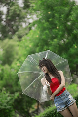 *** (Fevzi DINTAS) Tags: portrait tree nature girl beauty fashion lady umbrella pose asian thailand asia pretty bokeh modeling outdoor cyte styel thailandpaza140