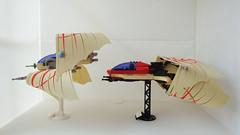 STG 6 - Akaei (Jayfourke) Tags: game lego space telephone spaceship starfighter