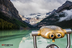 Through The Looking Glass (Neil Young Photography (nyphotos.ca)) Tags: lake canada mountains water nikon alberta rockymountains lakelouise neilyoung fotoman lousie nyphotos d700 neilyoungphotography