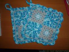 Potholders (Vecilija's Corner) Tags: handmade crochet cotton potholders