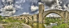 Besalú, España (german_long) Tags: city españa castle spain ciudad castillo cataluña besalú