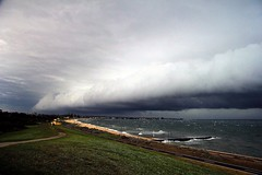 Wild weather in Victoria (ABC News) Tags: weather victoria storms