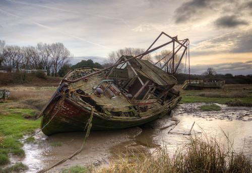 Dee estuary boats 01 HD feb 17