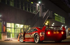 F40 in the night (Giacomo Toledo Photography) Tags: ferrari f40 ferrarif40 f40ferrari