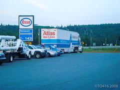 Ontario (Canada) (TO (416)) Tags: 2008 canada ontario to416 travel transcanadahighway tofouronesix highway17 marathon truck esso