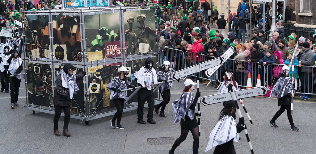 DUBLIN INSTITUTE OF TECHNOLOGY [PATRICKS DAY PARADE IN DUBLIN 2017]-126064