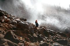 Sansa Stark (Lichon photography) Tags: sansa stark game thrones gameofthrones lichonphotography banff takakkaw falls cosplay tumbkr