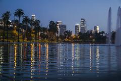 Downtown (NTIK Photography) Tags: losangeles downtown night lake a6000 50mm sony alfa reflection light