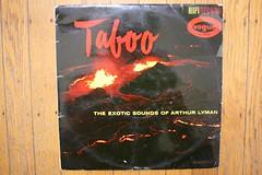Arthur Lyman Taboo (Vogue Records 1959) (Donald Deveau) Tags: record voguerecords arthurlyman taboo hawaiian jazz exotica vinyl lp volcano
