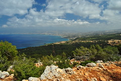 Partially overcast (richie78) Tags: cyprus akamaspeninsula nationalpark sea ocean coast nature landscape nikond3000 nikon d3000
