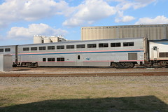 Amtrak 34109 (atucker2976) Tags: triptotexasmarch2017 saginawtexas burlingtonnorthernsantaferailwaybnsf amtrakamtkheartlandflyertrain822 superliner coachclass