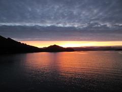 Loch A Chorie Sunset