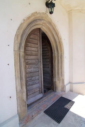 Portal zachodni kościoła Wniebowzięcia NMPw Świętomarzy
