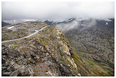 Photos from a trip to Norway by Cruise Ship. (Matthew.P.Wright) Tags: cliff cold dalsnibba dalsnibbaviewpoint danger geiranger geology glacier ice journey landscape mountainroad mountainous mountains mountianpass norway precipitous rocks rugged strata travel valley wild wilderness sunnmøre