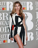 Abbey Clancy attends The BRIT Awards 2017 at The O2 Arena on February 22, 2017 in London, England. (Photo by John Phillips/Getty Images)