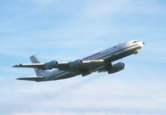 Tradewinds 707 'G-BNGH' (Longreach - Jonathan McDonnell) Tags: ireland dublin dublinairport eidw 1980s 1987 24101987 boeing 707 boeing707 tradewinds gbngh tradewindsairways cargo 707321c 043020