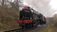 LMS No.46100 'Royal Scot' southbound at Darnholm [NYMR] on 1st April 2017 (soberhill) Tags: northyorkshiremoorsrailway nymr lms 46100 royalscot grosmont pickering railway steam train locomotive darnholme 2017
