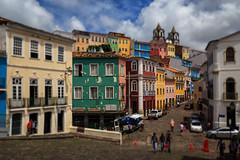 Centro Histórico, Salvador, Brazil #2 (Kenneth Back) Tags: brazil landscape centrohistórico cityscape color pelourinho colorful salvador bahia br
